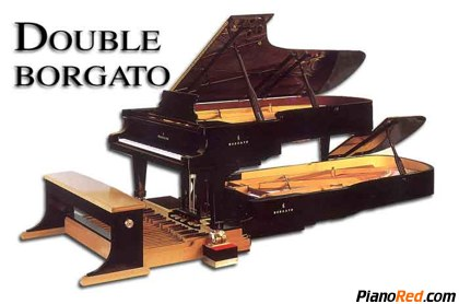 El piano de Luigi Borgato