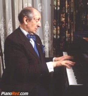 Vladimir Horowitz enseñando piano