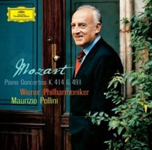 Mozart tocando la grabación por Pollini