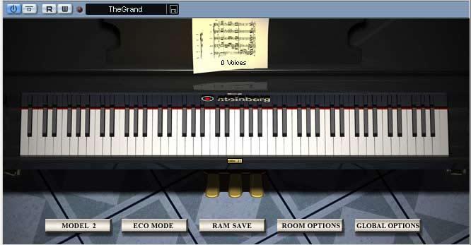 Software de piano virtual