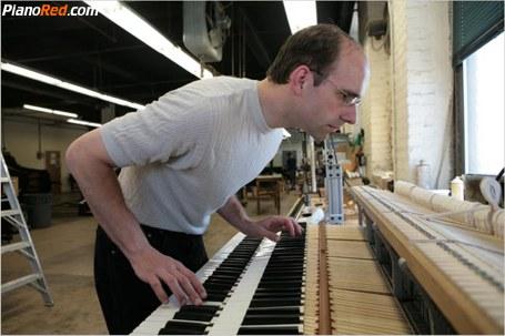 Piano de doble teclado