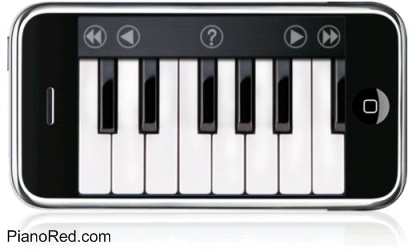 El piano para iphone