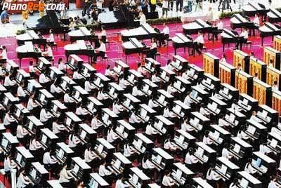 Concierto de piano en Shenzhen