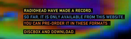 El nuevo disco de RadioHead