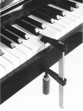 foto artística de piano