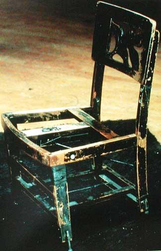 silla de Glenn Gould