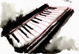 Acuarela de piano