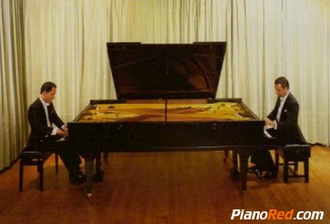 piano doble de Pleyel