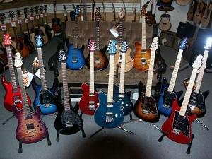 Guitarras de segunda mano.